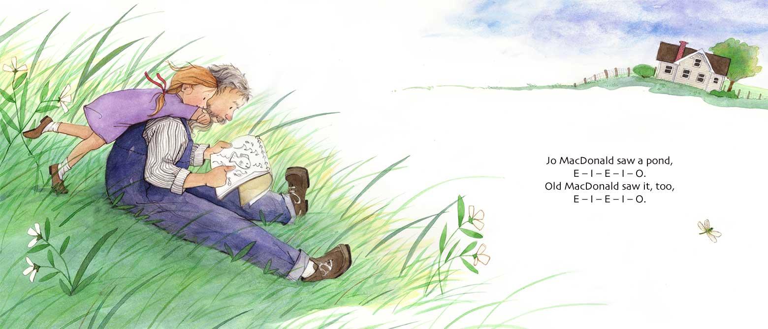 Jo MacDonald Saw a Pond by Laura J. Bryant