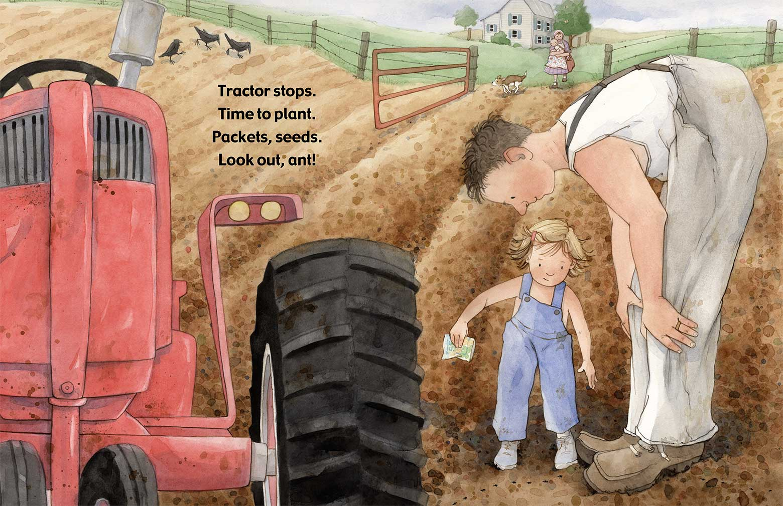 Tractor Day by Laura J. Bryant