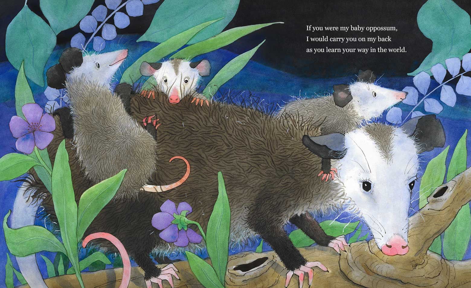 If You Were My Baby: A Wildlife Lullaby by Laura J. Bryant